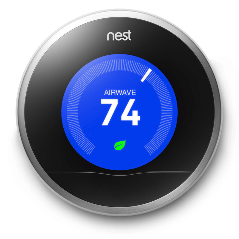 Nest thermostat connected homes - Thermostat connecte nest ...